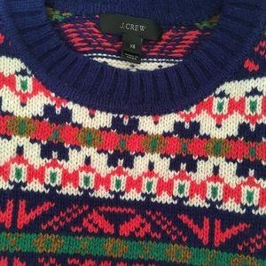 New J.Crew Wool Sweater